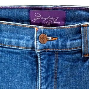 Not your Daughter's Jeans sz 10 med wash, boot cut, high rise,tall